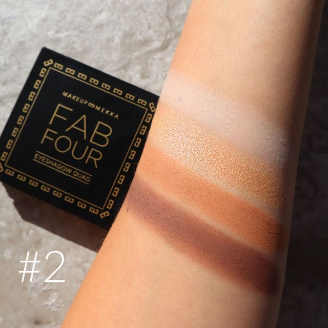 Fab Four Eyeshadow Palette & Brush Set